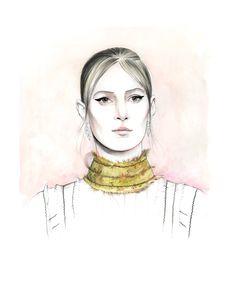 Julia Nobis for Prada spring 2015