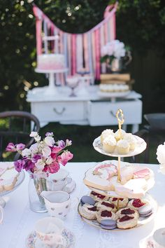 Little Big Company | The Blog: A Garden High Tea Party for a Baby Shower by Captured with Love Photography