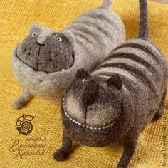 Valentina Krasnova - felted cats