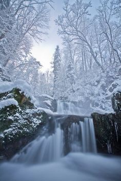 paisajes de invierno bonitos para niños