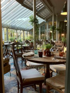 Beautiful restaurant in the summer or winter. Wonderful light through the conservatoire. Fantastic staff and delicious food. The Pig, Brockenhurst