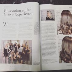 Looking for something different, with a fresh approach to service and hairdressing in a beautiful setting? The Grove Experience is waiting to welcome you. Very Excited, Relax, Magazine, Beautiful, Warehouse, Magazines, Newspaper