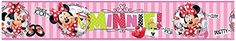 Minnie Mouse Pink Stripes Self Adhesive Wallpaper Border 5m >>> Check out this great product.