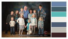 Family Portraits - Family Picture Colors - Style and Outfit Selections - Color Palettes - NP Design  Photography - www.npdesignphotography