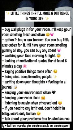 Self care tips💦🔹