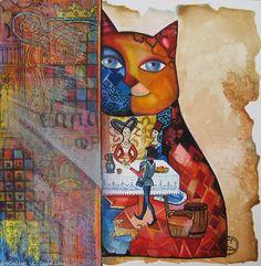 """""""Medieval Cat"""" par Oxana Zaika"""