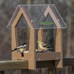 bird feeders that hook on railing - Google Search