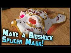 How to Make a Bioshock Splicer Mask! Bioshock Splicer Rabbit Mask Tutori...