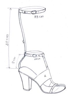X-factor in Alexander Wang shoes, Rihanna X factor shoes,unexpected fun, step by step video tutorial Make Your Own Shoes, How To Make Shoes, Alexander Wang, Drawing High Heels, Shoe Template, Celebrity Shoes, Shoe Sketches, Modelista, Shoe Last