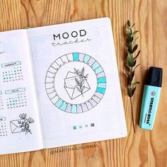 . ⊹ 。* ᴍᴀʀᴛʜᴀ ⊹ 。・ . sur Instagram: This month has had it's ups and downs. How have you all been lately? 💙💚 • • • #bulletjournal #bujo #bulletjournaling #bulletjournals…