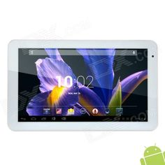 """ICOO D10M 10.1"""" Dual Core Android 4.2.2 Tablet PC w/ 8GB ROM / Wi-Fi / TF / Micro USB - White Price: $107.99"""