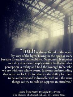 Naked truth - Tammy Strait