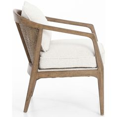 Ships directly from the manufacturer. The Alexandria Chair is a versatile solution to your home decor. This piece exceeds both form and function for your home. Online Furniture, Home Furniture, Furniture Design, Rattan Furniture, Brown And Blue Living Room, Bedding Inspiration, Burke Decor, High Fashion Home, Chair Fabric