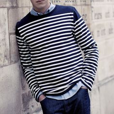 Fancy - French Mariner Shirt by Bonarium