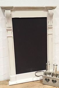 Large Black Board Chalk Kitchen Blackboard Vintage Chic | eBay