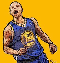 Stephen Curry 'Sharpshooter' Art