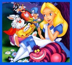 BUY 2, GET 1 FREE! Alice in Wonderland Disney 140 Cross Stitch Pattern Counted Cross Stitch Chart, P