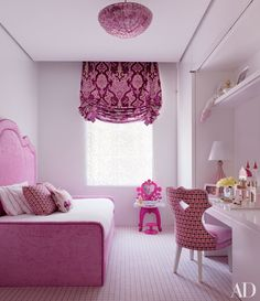 Girl's bedroom in shades of purple - Architectural Digest Girls Bedroom, Childrens Room, Daughters Room, Future Daughter, Pink Room, Nursery Inspiration, Nursery Ideas, Bedroom Ideas, Project Nursery