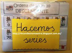 Rincón de una maestra: Matemáticas divertidas: Hacemos series Math Games, Preschool Activities, Maths, Math Centers, Classroom Management, Teacher, Learning, Blog, Peru
