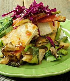 Szechuan Tofu by The Raw and the Cooked. Healthy, vegan, unique. http://www.chefd.com/collections/all/products/szechuan-tofu-with-sticky-rice