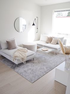 UUTTA OLOHUONEESSA Ikea Living Room, Small Living Rooms, Zen Home Decor, New Home Designs, Living Room Inspiration, Minimalist Home, Living Room Designs, Interior Design, Decoration