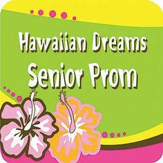 Luau Hibiscus Flower Personalized Coaster