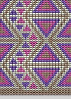 Resultado de imagen para crochet pattern wayuu bag Tapestry Crochet Patterns, Crochet Art, Crochet Motif, Beading Patterns Free, Bead Loom Patterns, Cross Stitch Patterns, Mochila Crochet, Patron Crochet, Tapestry Bag
