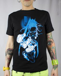 Mens Cut Girl T-Shirt from Cyberdog UK Ltd