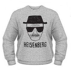 Sweat Breaking Bad Heisenberg Gris