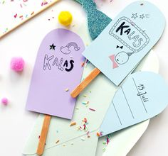 Today's creative inspiration comes from Stockholm based photographer Sanna Lindberg. I just love all her pretty pastel photographs from the oh so cute ice lolly invitations to the p Invitation Card Birthday, Printable Invitations, Party Invitations, Invitation Cards, It's Your Birthday, Birthday Parties, Pop Sicle, Pretty Pastel, Childrens Party