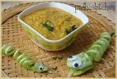 Snake Gourd Kootu - Pudalangai Kootu recipe