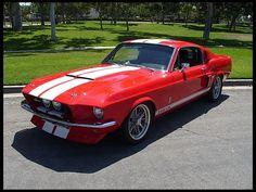 1967 Ford Mustang GT500 Replica 428/460 HP, 6-Speed  #Mecum #Anaheim