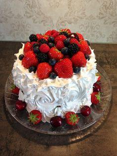 Marlenes kaker og design: Vannmelonkake