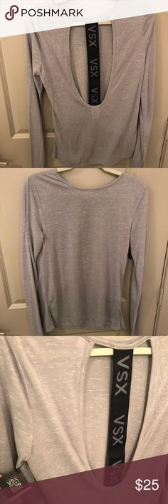 Victoria Secret workout top Never worn tags still on! Victoria's Secret Tops Tees - Long Sleeve