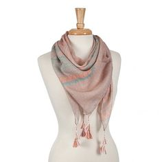 Aztec Design Scarf-Host Pick