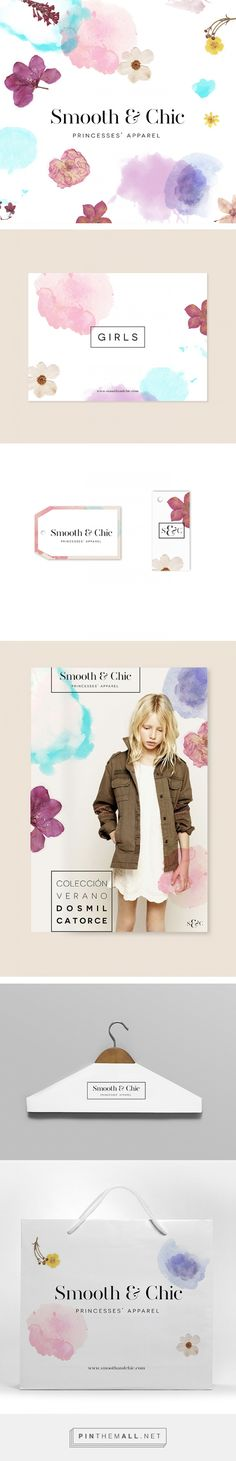 Smooth & Chic Branding on Behance | Fivestar Branding – Design and Branding Agency & Inspiration Gallery