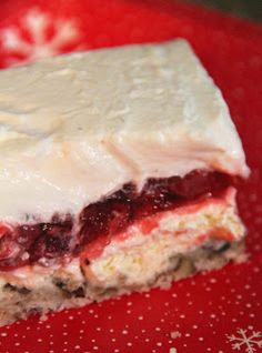 Strawberry Sigh Layered Dessert - A pinner said; I think I just died from all the deliciousness. I say: I need to try this!