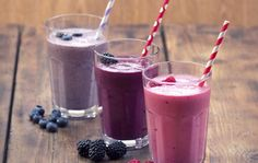 Blend up one of these concoctions for a quick nutrition fix