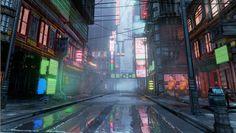 Europolis Mega City (Unreal Engine 4)