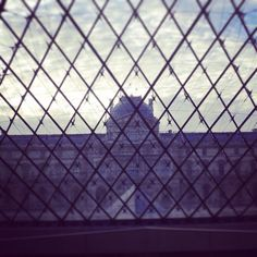 What a wonderful view. Musee du Louvre