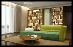 Liwingroom Couch, 3d Rendering, Contemporary, Living Room, Hungary, Apartments, Furniture, Home Decor, Settee