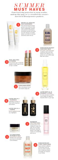 http://www.beautycounter.com/jonathandortman Health and Beauty Wins. Repin if you agree Summer Beauty Must-Haves!