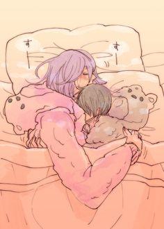 A cuddle bear ... i would like to switch with Tatsuya