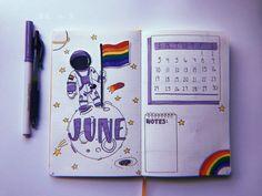 Image result for pride month bullet journal