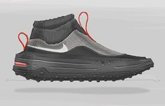 A futuristic Nike air max. Full lock down too! #nike #airmax #nikeairmax #airmax90 #airmax1 #conceptkicks #lacelessdesign #instagood #athleisure #future #conceptart #concept #sketch #photoshop #indistrialdesign #productdesign #footweardesign #shoedesign #shoe #flyknit #nikeairmax90