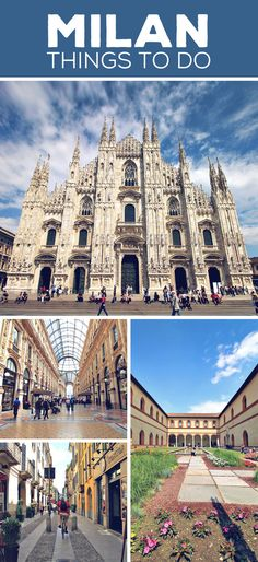 Milan | Things to do and How to Travel Italy by Train | via @Just1WayTicket