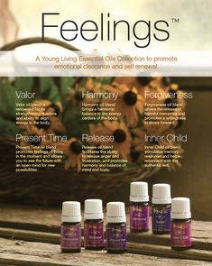 Young Living Essential Oils: Feelings Kit! To learn more about essential oils visit www.thesavvyoiler.com
