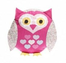 Dit decoratieve roze kussen is van het merk Sass & Belle