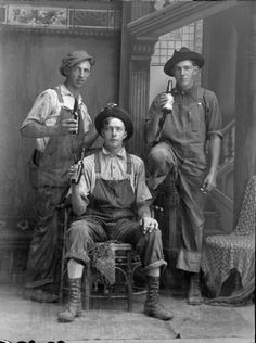 I already dress like this, at least when there's work to do, but I would never drink my beer from the bottle. Unless it's a crappy beer. And someone else paid for it.