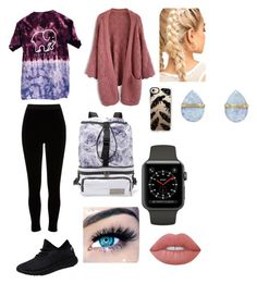 """""""Untitled #2"""" by kaothus on Polyvore featuring Ivory Ella, Chicwish, River Island, adidas, Casetify, Melissa Joy Manning, MINX and Lime Crime"""